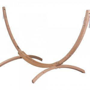 Leseno stojalo za dvojno visečo mrežo CANOA Caramel
