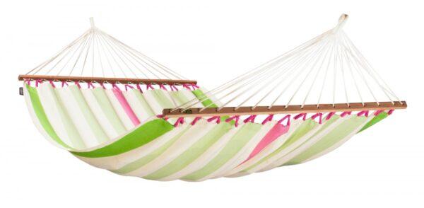 Dvojna zunanja viseča mreža z robnimi palicami COLADA Mango