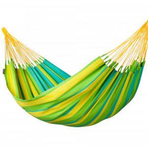 Zunanja viseča mreža SONRISA Lime