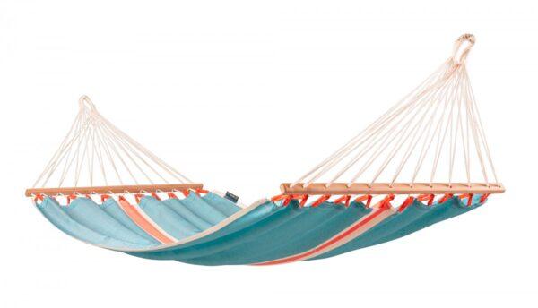 Zunanja viseča mreža z robnimi palicami FRUTA Kiwi