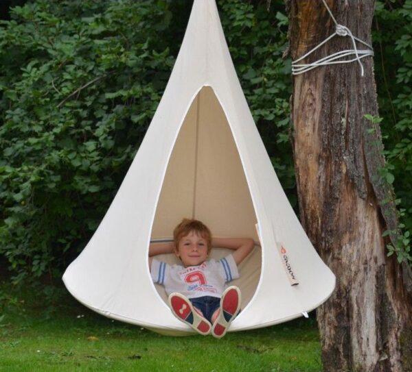 Otroški viseči šotor CACOON BEBO Natural White