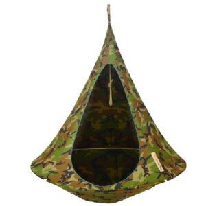 enojni cacoon visece gnezdo stol Camouflage1