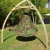 enojni cacoon visece gnezdo stol Camouflage5