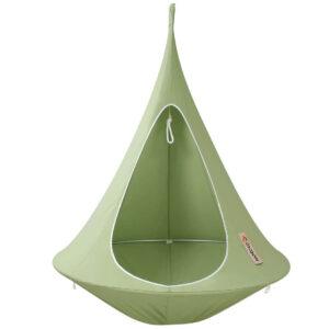 enojni cacoon visece gnezdo stol leaf grean6