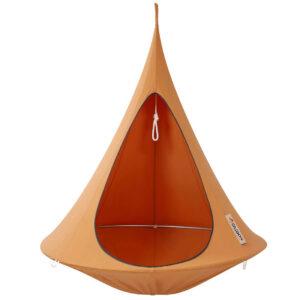 enojni cacoon visece gnezdo stol mango orange1
