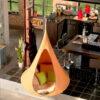 enojni cacoon visece gnezdo stol mango orange3