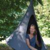 Otroški viseči šotor CACOON BEBO Anthracite2