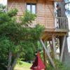 Otroški viseči šotor CACOON BEBO chilli red2