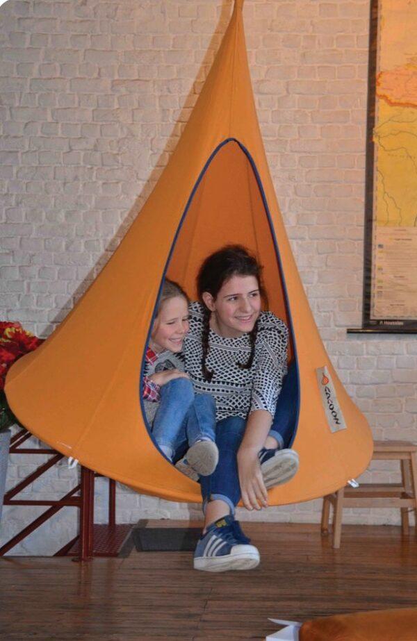 Otroški viseči šotor CACOON BEBO Fuchsia