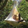 Otroški viseči šotor CACOON BEBO white