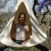 Otroški viseči šotor CACOON BEBO white4