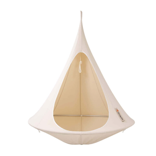 Viseči šotor CACOON Natural White