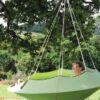 Viseči šotor Lullio CACOON Leaf Green4