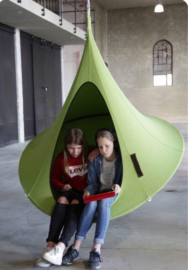 Viseči šotor Olefin CACOON Lime