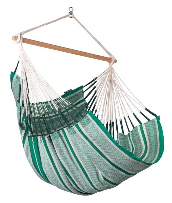 Comfort viseči stol iz bombaža HABANA Agave