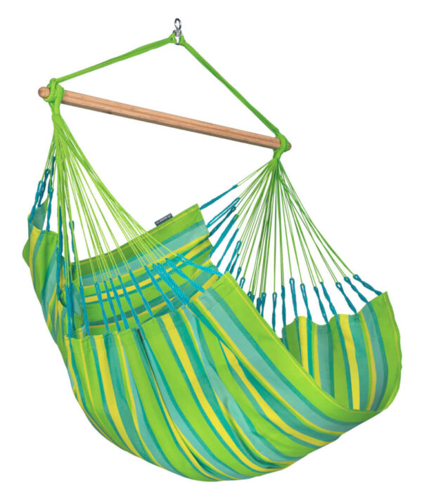 Comfort zunanji viseči stol DOMINGO Lime