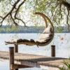 Leseni viseči stol SWING LOUNGER 5