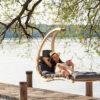 Leseni viseči stol SWING LOUNGER 7