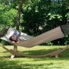 Leseno stojalo za družinsko visečo mrežo APOLLO 4